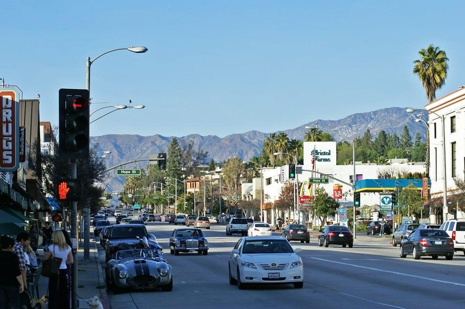 Pontos turísticos em Pasadena
