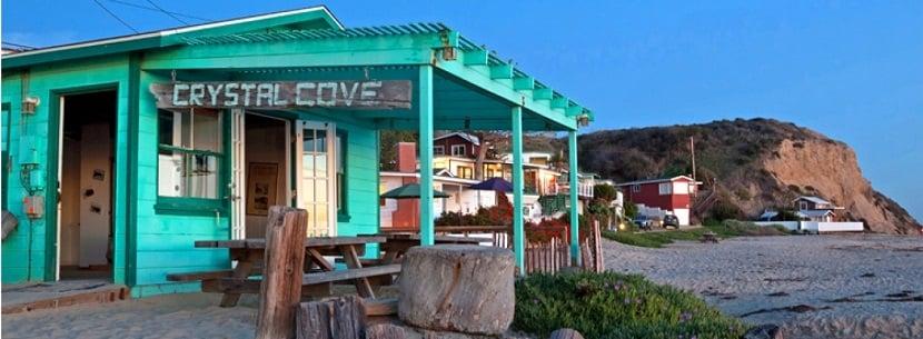 Crystal Cove State Park em Newport Beach