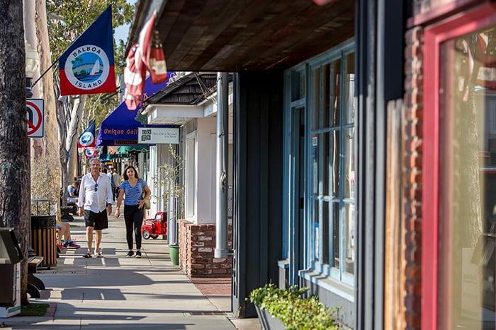 Marina Ave em Newport Beach