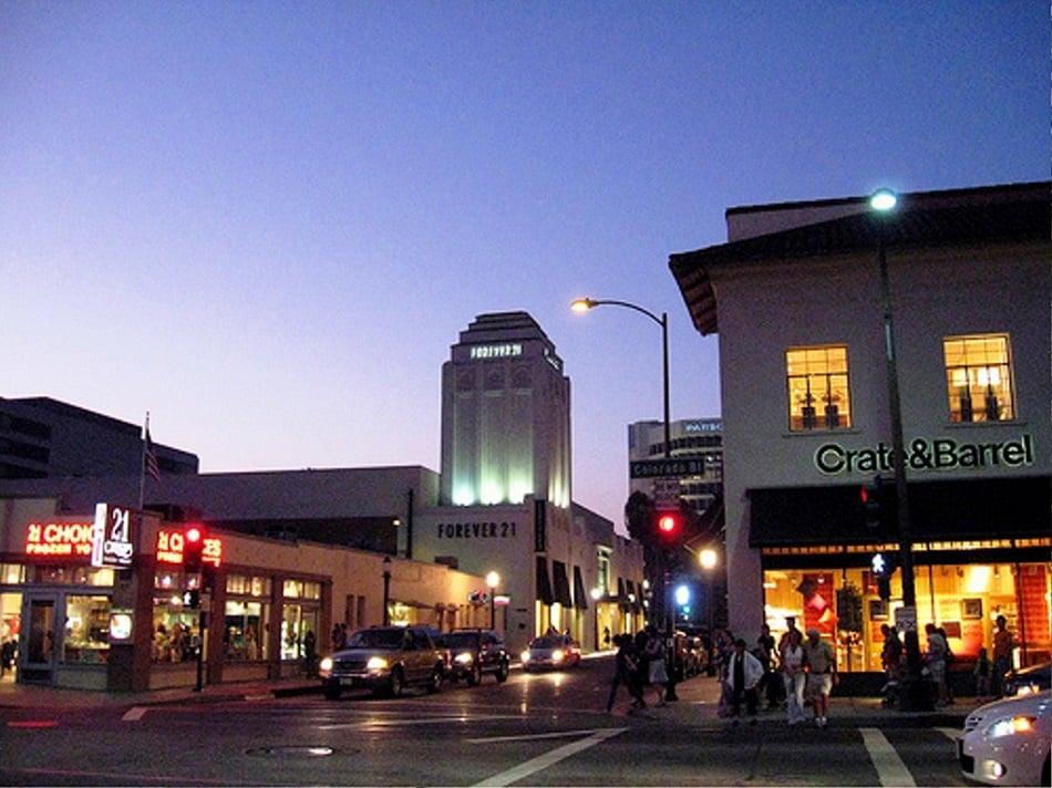 Old Pasadena em Pasadena