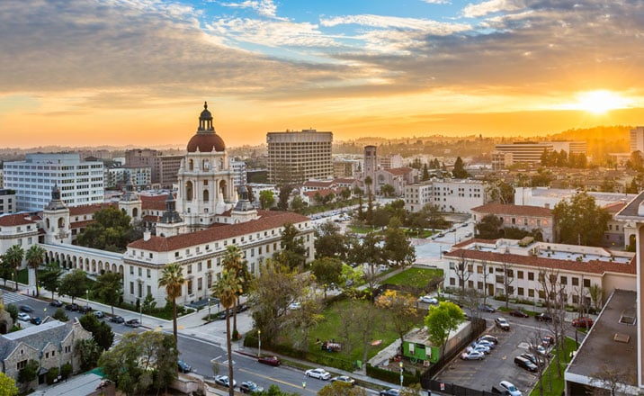 Turismo em Pasadena na Califórnia