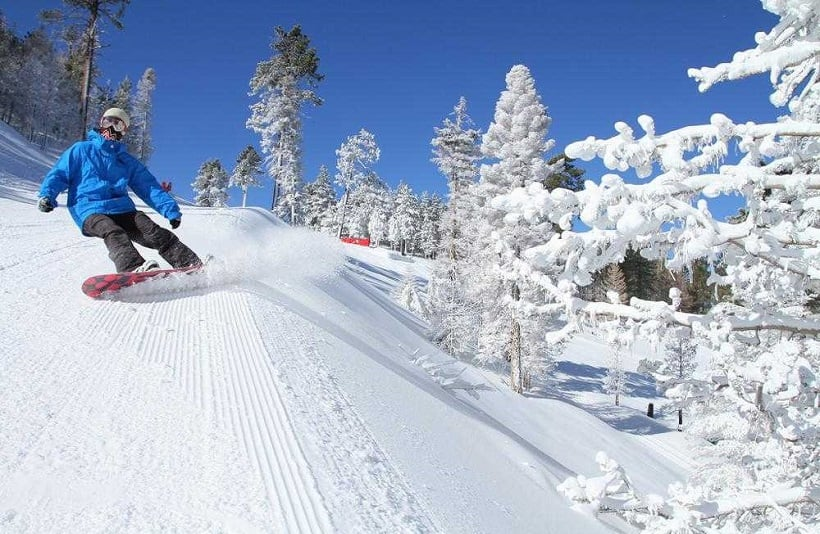 Esquiar em Big Bear Mountain