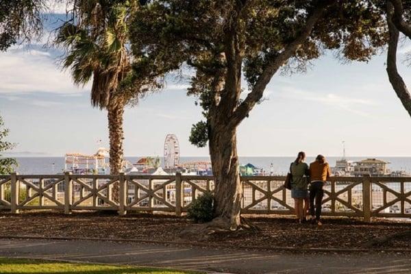 Palisades Park em Santa Mônica