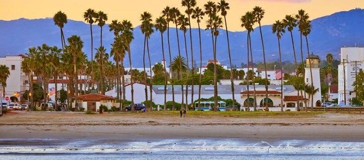 Praias em Santa Bárbara