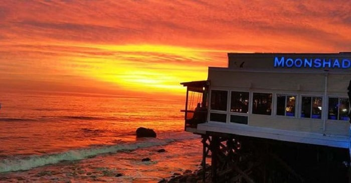 Restaurante Moonshadows em Malibu