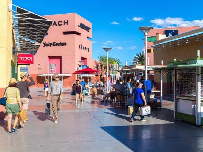 Outlets para compras em Las Vegas