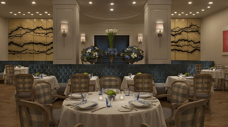 Restaurante The Belvedere em Beverly Hills
