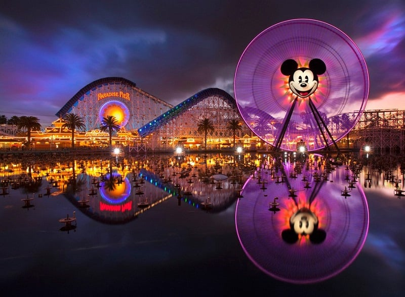 California Adventure Park em Anaheim