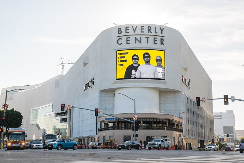 Passeio pelo Beverly Center em Beverly Hills