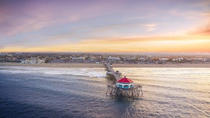 Pontos turísticos em Huntington Beach