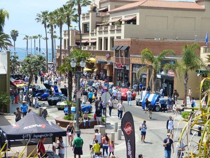 Ponto turístico Main Street em Huntington Beach