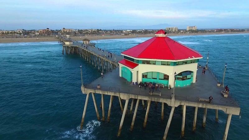 Ponto turístico Píer em Huntington Beach