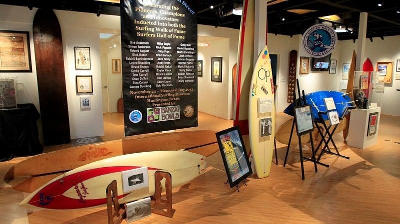 Visita ao International Surfing Museum em Huntington Beach