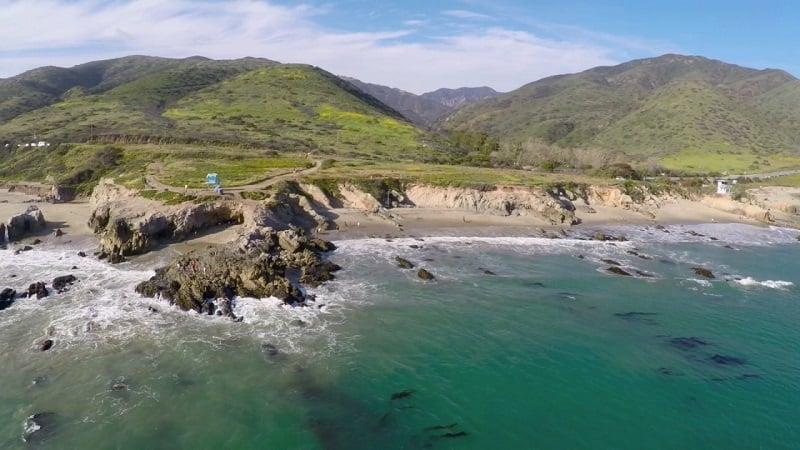 Tour pelo Leo Carrillo State Park em Malibu