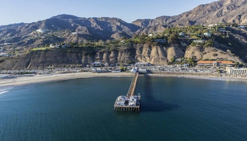 Passeio pelo Pier de Malibu