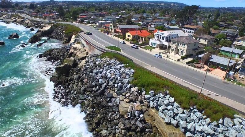 Passeio pelo West Cliff Drive em Santa Cruz