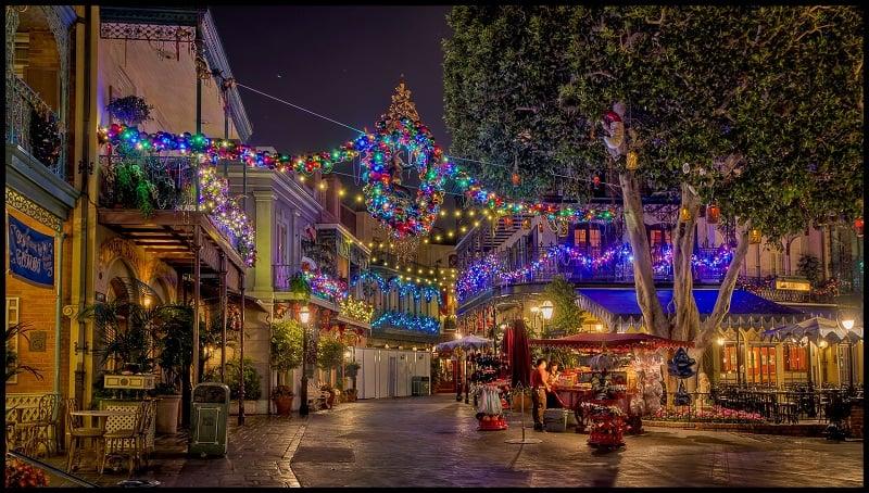 Noite na Disneylândia em Anaheim