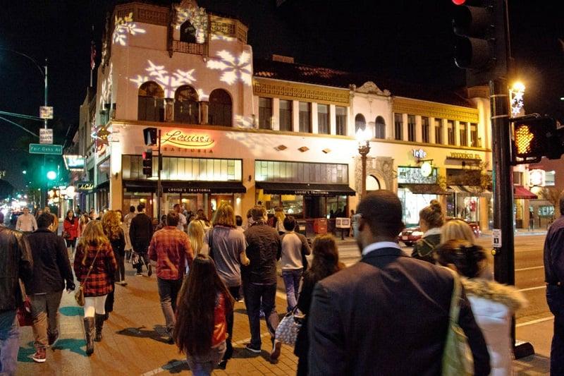 O que fazer a noite em Pasadena