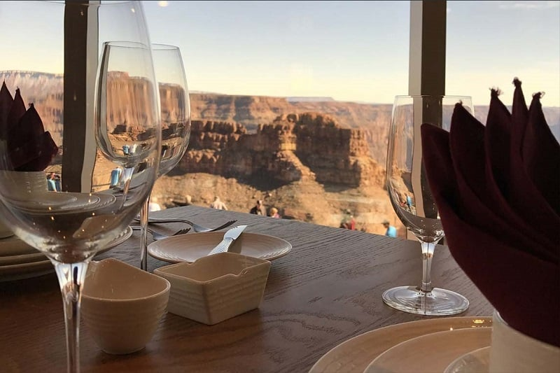 Restaurante no Grand Canyon West no Grand Canyon