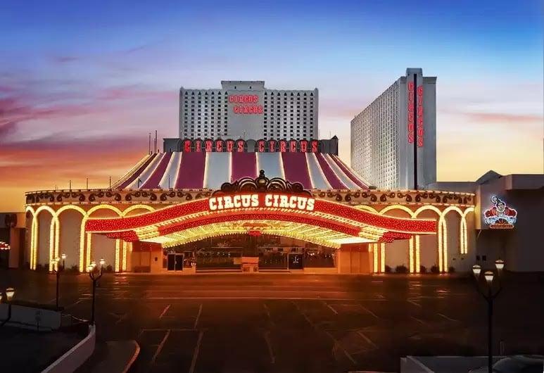 Ir com criança no hotel Circus Circus em Las Vegas