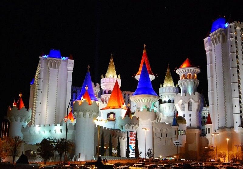Ir com criança no hotel Excalibur em Las Vegas