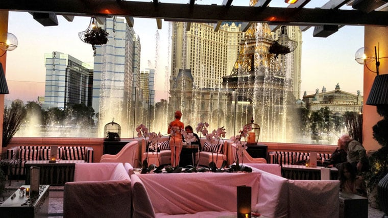Bar Hyde Bellagio em Las Vegas