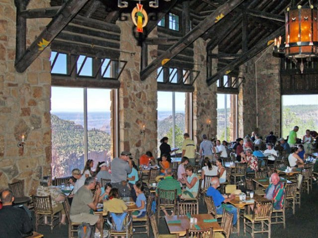 Restaurantes no Grand Canyon