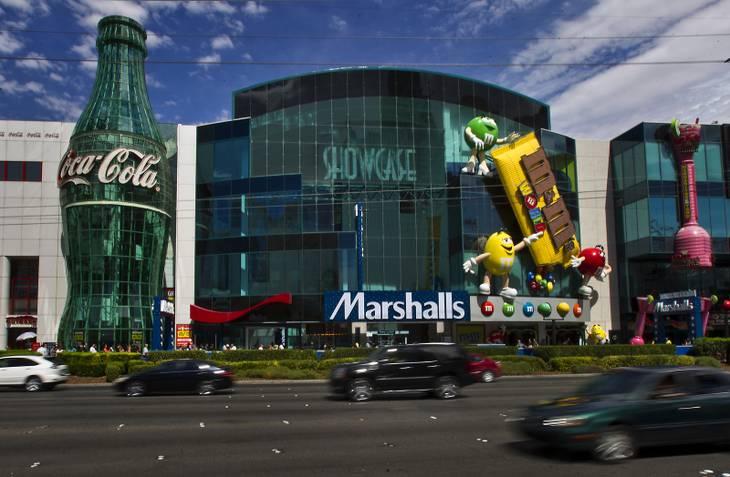 Passear no Showcase Mall em Las Vegas