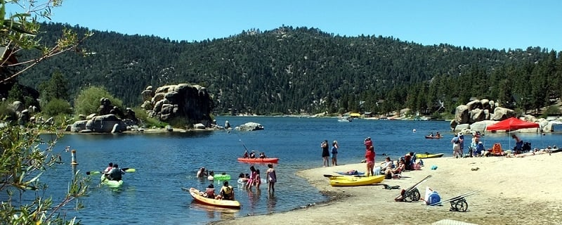 Atividades de verão com criança em Big Bear Lake