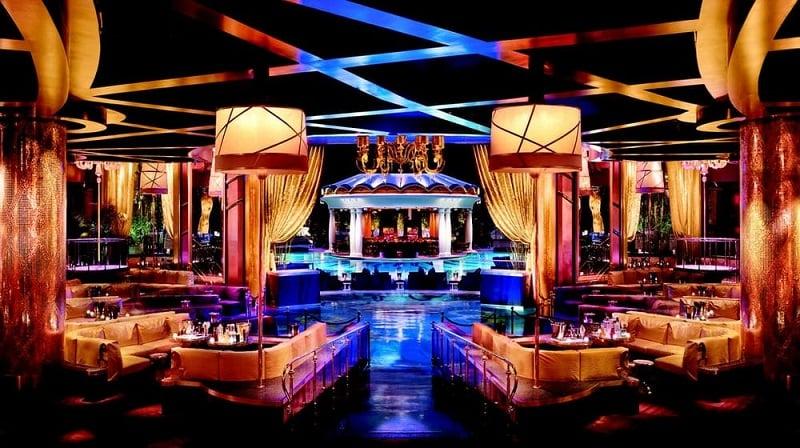 Balada XS Nightclub em Las Vegas