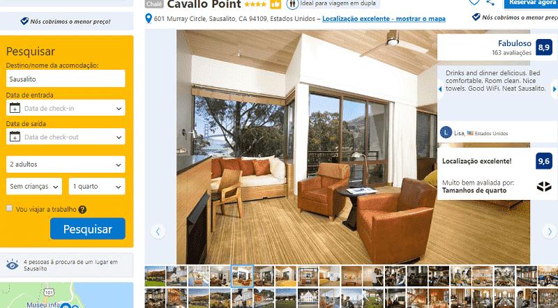 Estadia no Hotel Cavallo Point em Sausalito