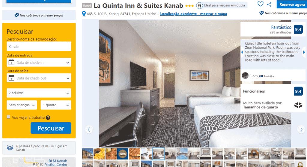 Estadia no Hotel La Quinta Inn & Suites em Kanab