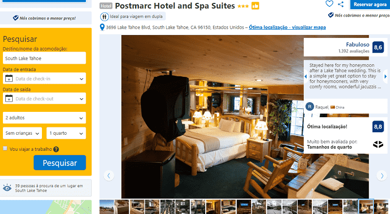 Estadia no Hotel Postmarc Hotel and Spa Suites em South Lake Tahoe