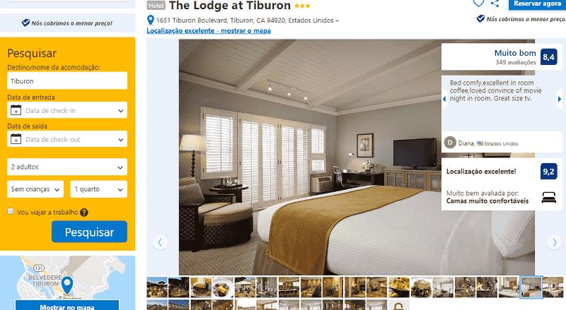 Estadia no Hotel The Lodge At Tiburon em Sausalito