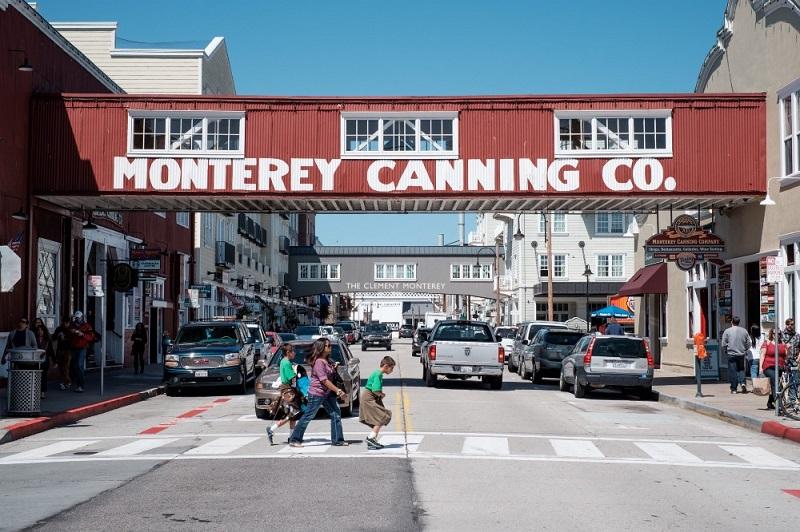 Ficar hospedado em Cannery Row em Monterey