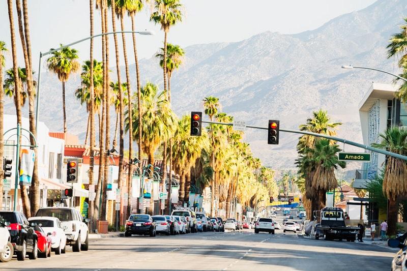 Ficar hospedado no Centro em Palm Springs