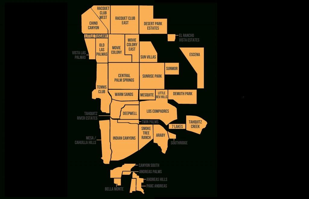 Onde ficar em Palm Springs: Melhores regiões
