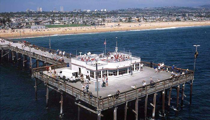 Ficar hospedado próximo ao Pier de Newport Beach