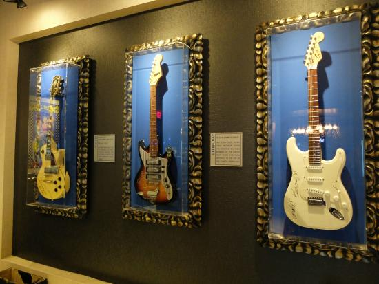 Estrutura do Hard Rock Café HolLywood Boulevard Los Angeles