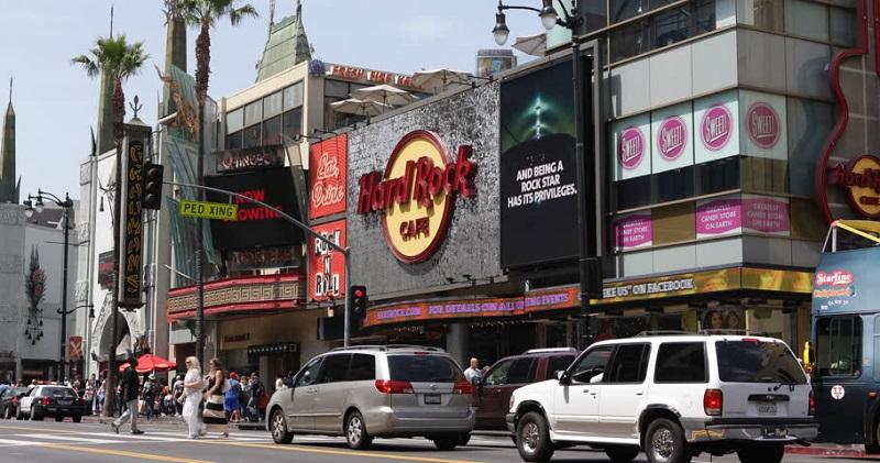 Informações sobre o Hard Rock Café Hollywood Boulevard Los Angeles