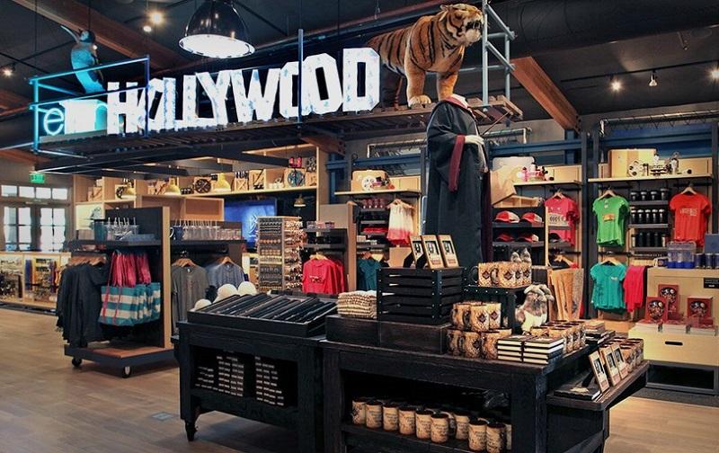 Loja no Warner Bros em Los Angeles
