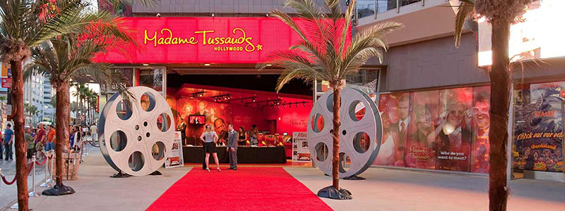 Go Card em Los Angeles no Museu Madame Tussauds