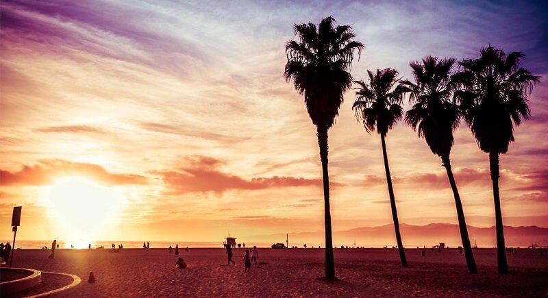 Planejamento de viagem na Califórnia