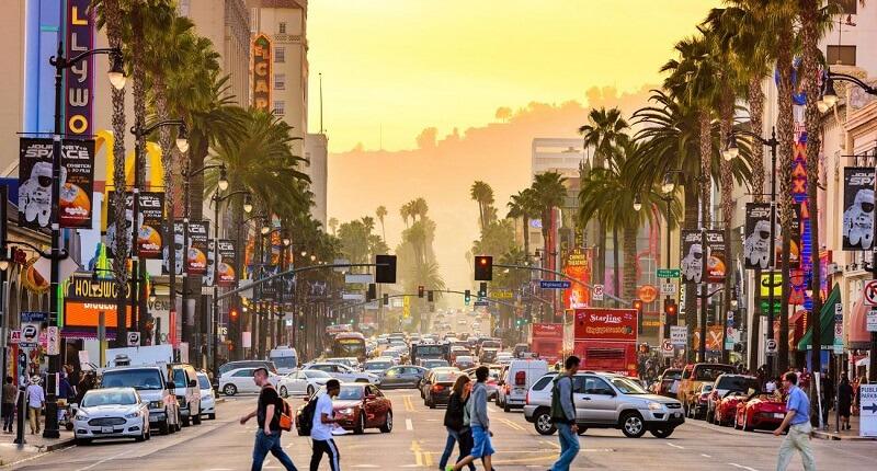 Região Hollywood em Los Angeles