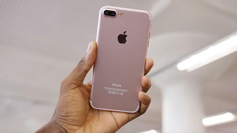 iPhone 7 na cor rosê