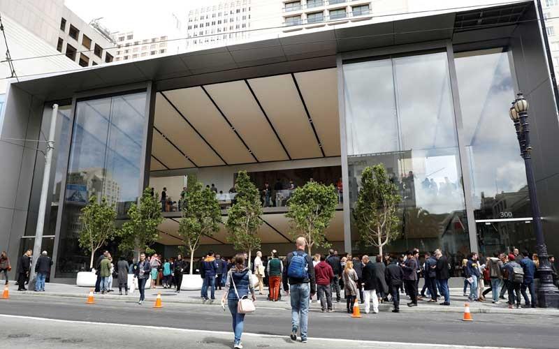 Lojas da Apple em San Francisco
