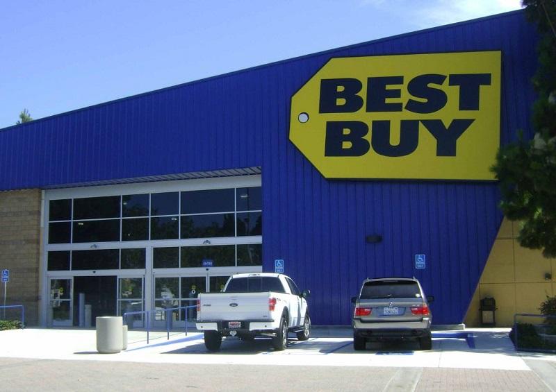 Lojas da Best Buy na Califórnia