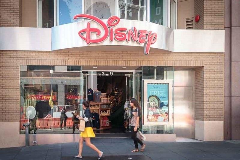 Loja Disney Store em San Francisco