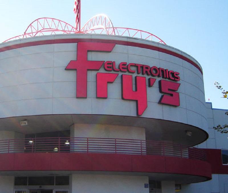 Fachada da loja Fry's Electronics