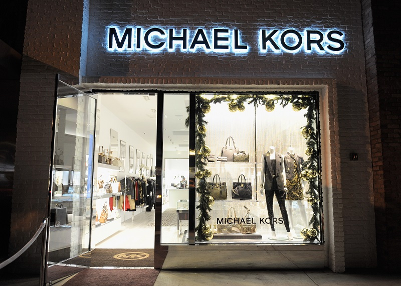 Fachada da loja Michael Kors